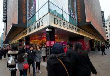 Debenhams reports challenging Christmas trading period