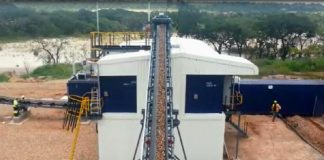 Lucapa Diamond Company plant