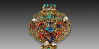 Amulet case (gau) from Nepal