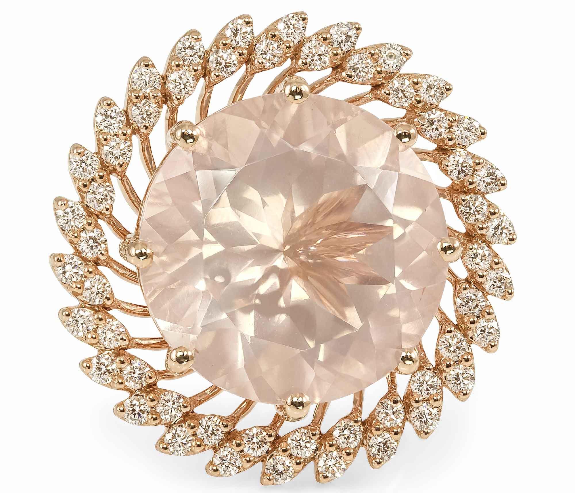 Lata Ring in Rose Gold