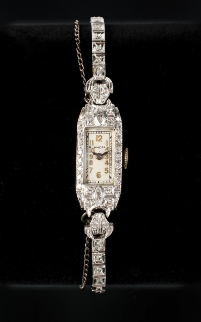 Marilyn Monroe's Platinum & Diamond Watch