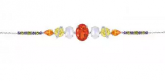 Arya Esha's One-of-a-Kind Gemstone Bracelet