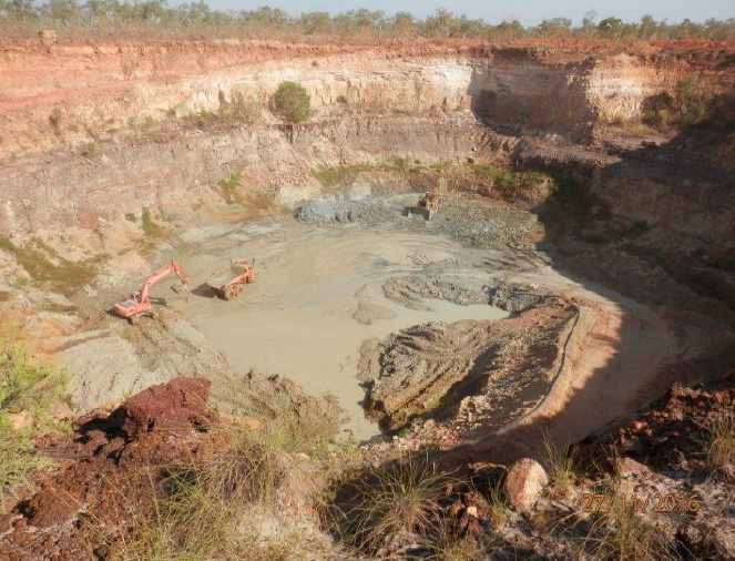 Mining Commences at Merlin Diamonds Site