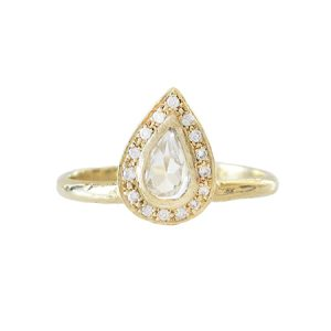 wedding style yellow gold rings