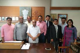 GJEPC Delegations Meet Govt Officials
