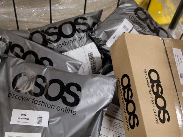 ASOS will deliver jewellery to Londoners on the same day