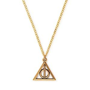 DEATHLY HALLOWS NECKLACE RAFAELIAN GOLD