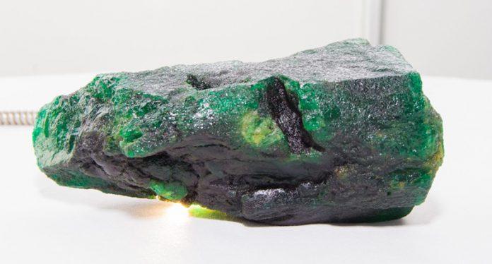 Gemfields Sells 6,100-Carat Rough Emerald at Oct. Auction