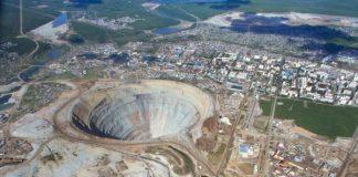 Mir mine Alrosa