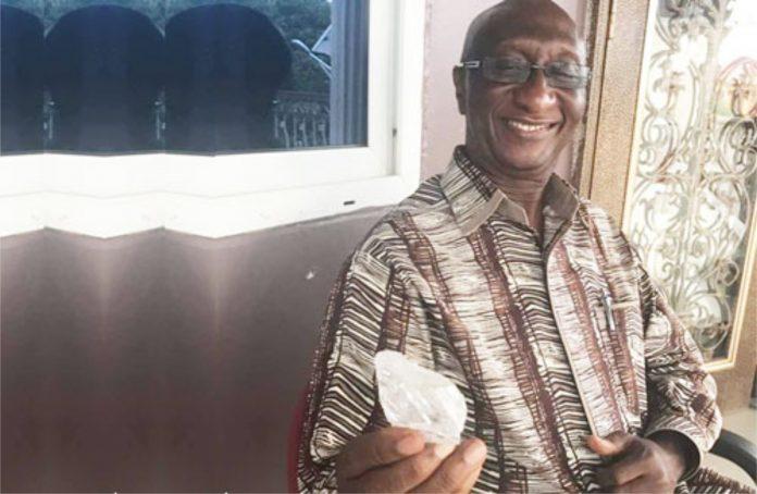 476 ct diamond Sierra Leone