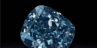 Fancy coloured blue diamond