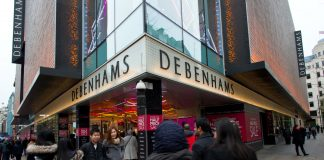 Debenhams reports challenging Christmas trading period