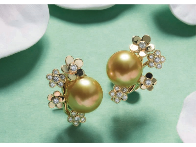 Pearl earrings specialist reveals spring-inspired collection