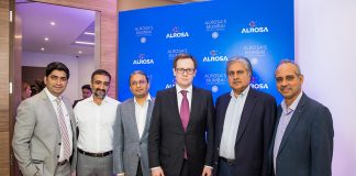 ALROSA Inaugurates Representative Office in BDB, Mumbai