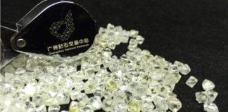 Guangzhou Diamond Exchange Holds First Run-of-Mine Diamond Tender