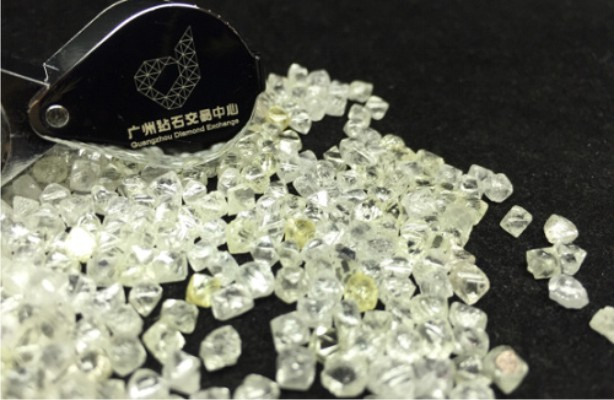 Guangzhou Diamond Exchange Holds First Run-of-Mine Diamond Tender