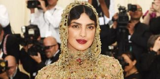 Priyanka Chopra headgear turned heads at the red carpet of Met Gala 2018