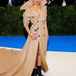 famous Ralph Lauren trench coat in Met Gala