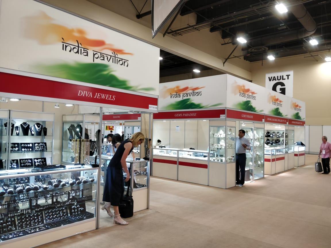India Pavilion at JCK Vegas 2