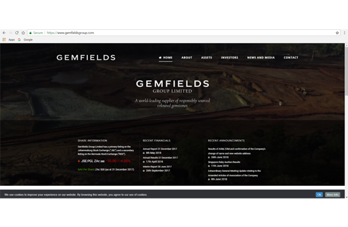 Pallinghurst Resources Rebrands Itself as Gemfields Group, To Focus on Coloured Gemstones