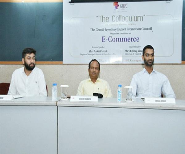 GJEPC Hosts Seminar on E-Commerce in Surat