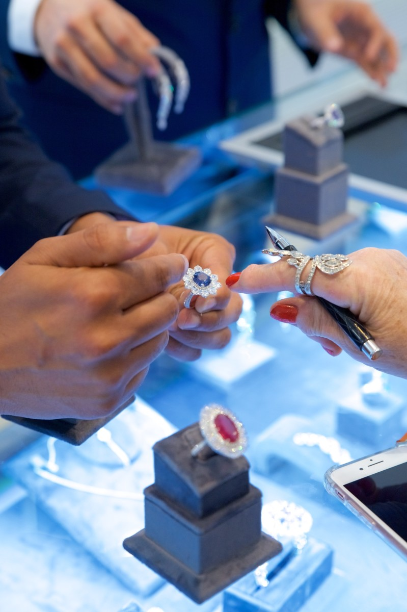 Luxury brands land in London