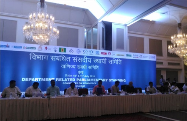 GJEPC Delegation Makes Presentation to Parliamentary Standing Committee on Commerce