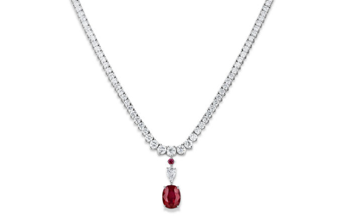 Rare ruby from Tajikistan makes its debut