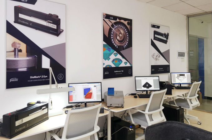 Sarine opens new service centre in China
