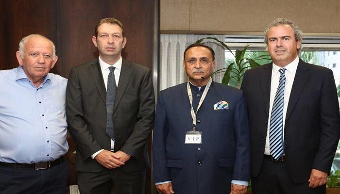 Gujarat CM Discusses Increased Bilateral Cooperation on Visit to Israel Diamond Exchange