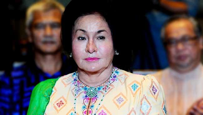 Rosmah Mansor Bernama