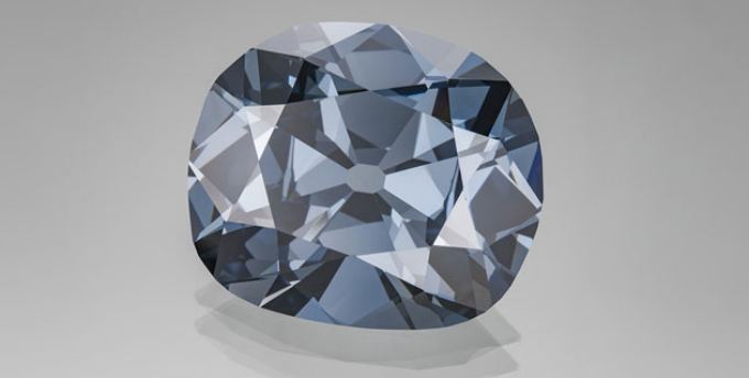 Unique origin of blue diamonds uncovered