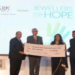 GJEPC's CSR initiative 'JewellersforHope