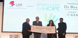 GJEPC's CSR initiative 'Jewellers for Hope
