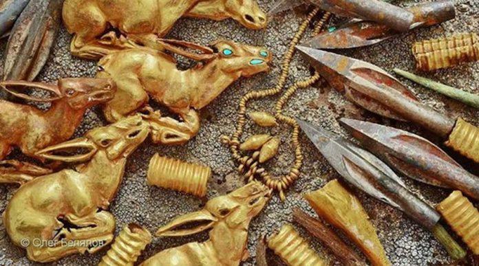 Massive gold treasure found in Kazakhstan