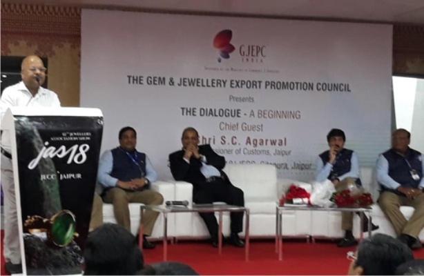 GJEPC Jaipur Launches Platform for Interaction with Govt Departments; First Session on IGST on Reimports