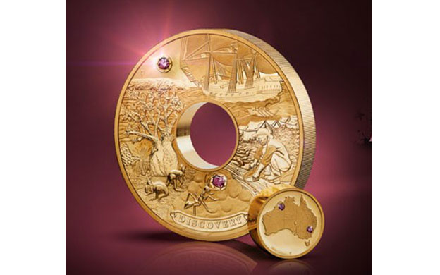 Perth Mint Unveils Australia's Most Valuable Gold Coin Studded with Argyle Pink Diamonds