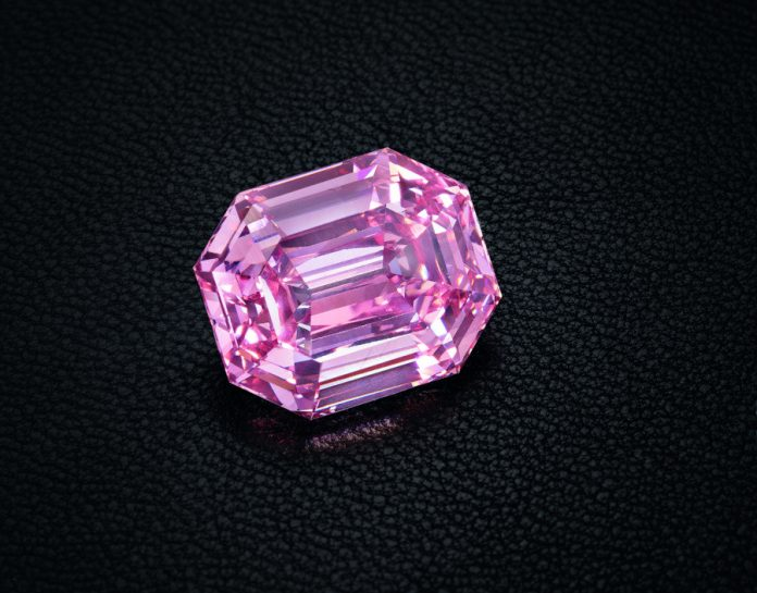 Christie's prepares to sell largest fancy vivid pink diamond in its history