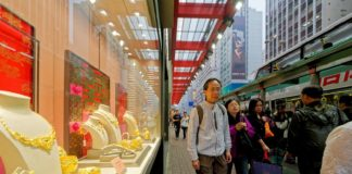 Jewellery sales retain shine in Hong Kong