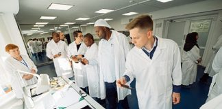 Kimberley Process Review Team Visits Russia