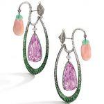 gem-set earrings from Chan