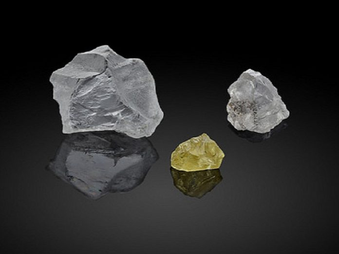 'Stars Of The Arctic' Large Rough Diamonds From Diavik To Be Auctioned