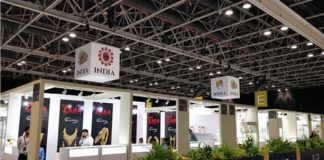 VOD Dubai International Jewellery Show Opens; 64 Exhibitors in India Pavilion