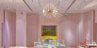 British jewellery brand pops up in London's Westfield