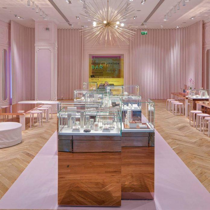 British jewellery brand pops up in London's Westfield