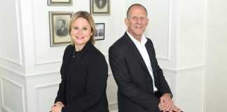 Beaverbrooks' MD, Anna Blackburn and chairman, Mark Adlestone
