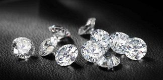 India's polished diamond exports