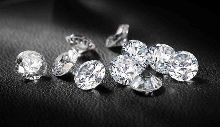 India's polished diamond exports