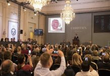 Christie's posts auction sales of $490m in 2018
