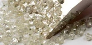 De Beers of rough diamonds